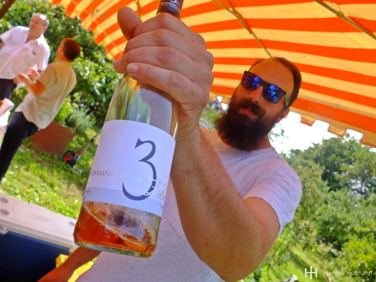 Weinmanufaktur 3 Zeilen - Rödelsee