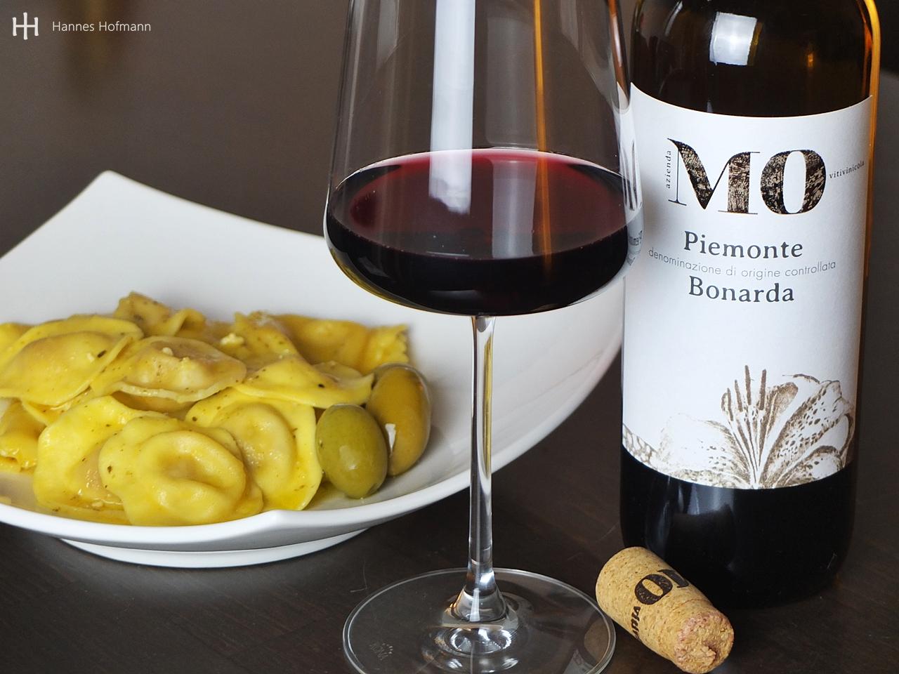 Bonarda der azienda vitivinicola MO