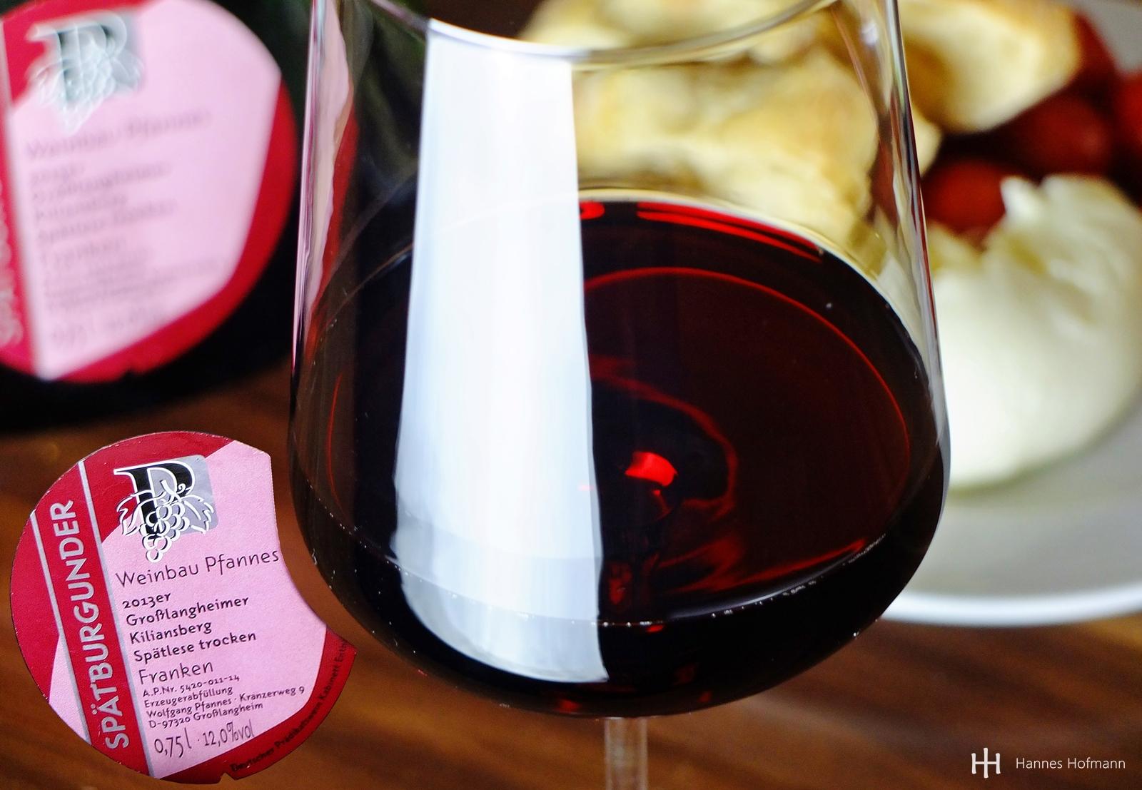 Spätburgunder Weingut Pfannes