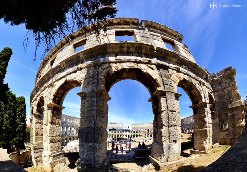 Amphietheater in Pula