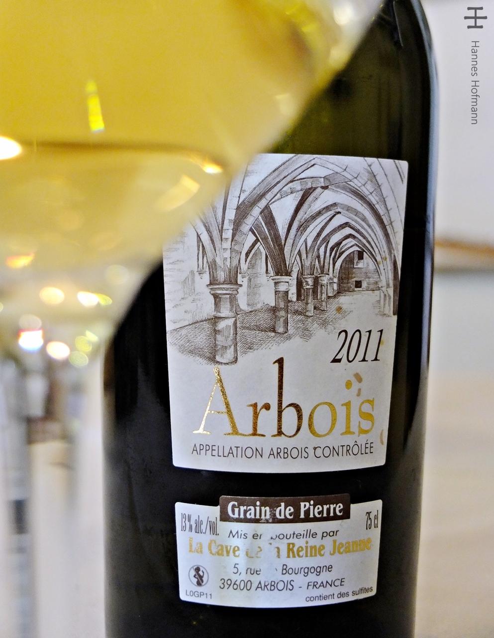 Les Caves de la Reine Jeanne - Grain de Pierre 2011 - Arbois