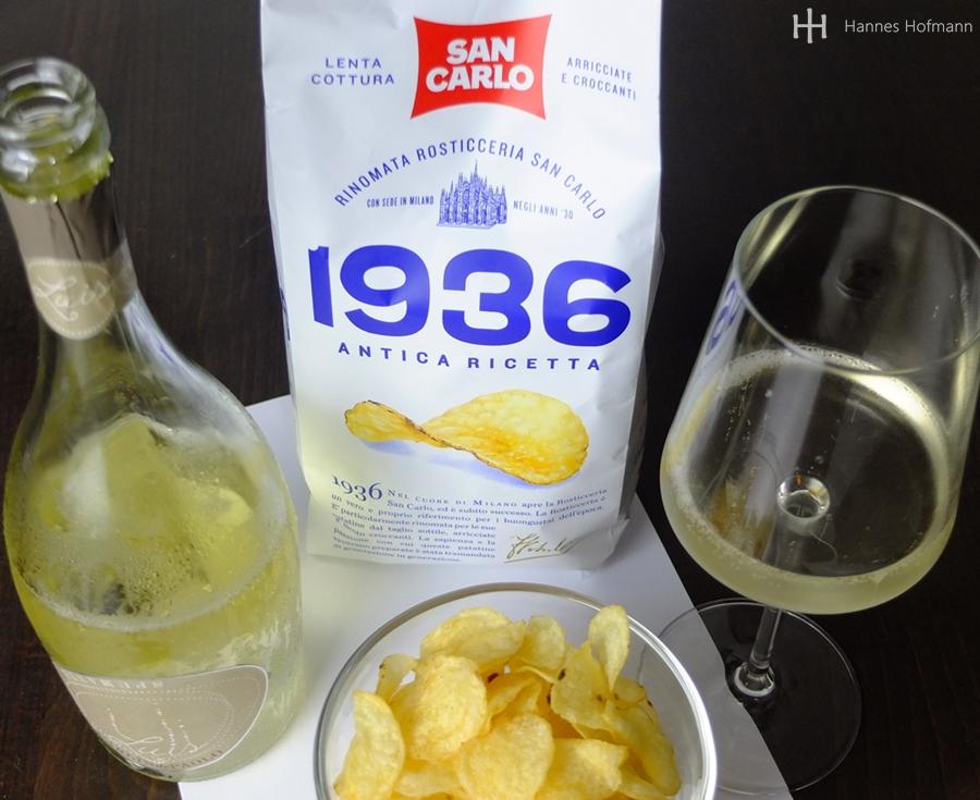 Spumante Luis - Carlin de Paolo mit San Carlo 1936 Chips