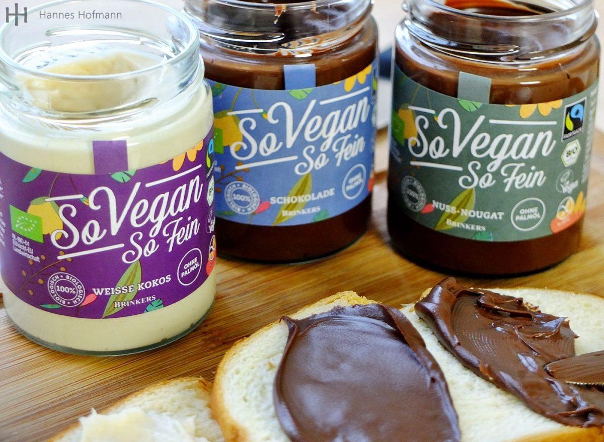 Brinkers Süßer Brotaufstrich Test: So Vegan So Fein | Kokos – Schokolade – Nuss-Nougat
