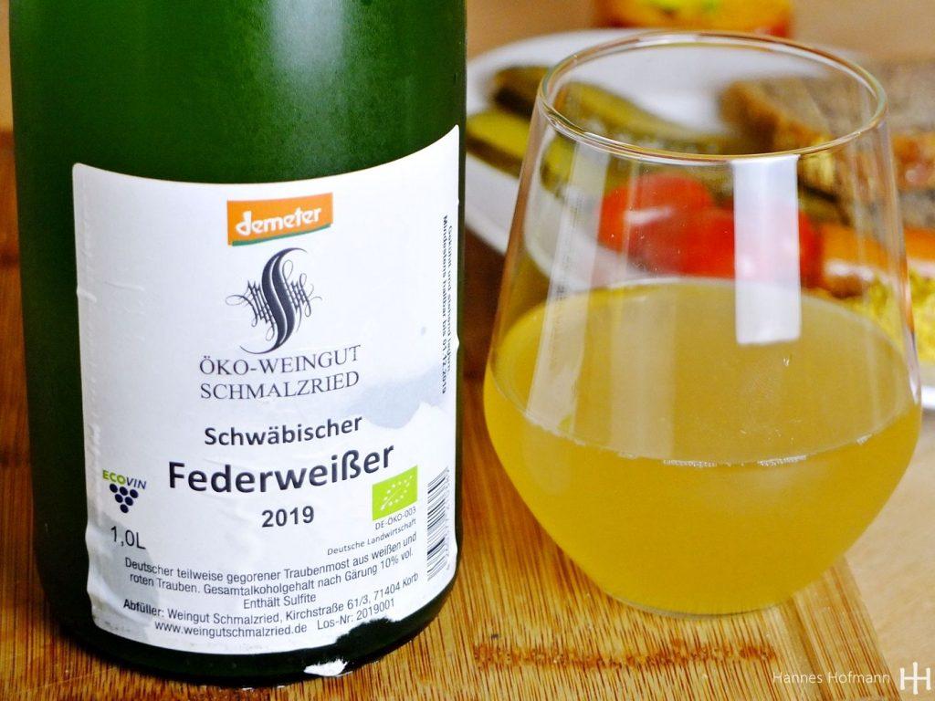 2019er bio-dyn. Schwäbischer Federweißer – Öko-Weingut Schmalzried