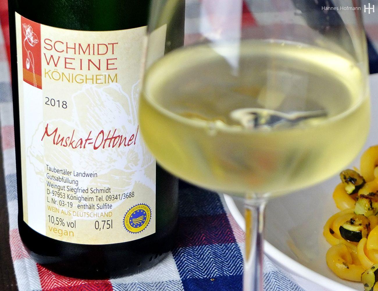 Muskat-Ottonel 2018 - Weingut Schmidt - Königheimer