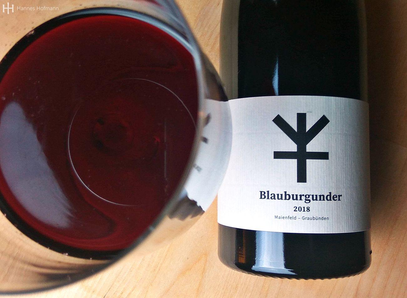 Blauburgunder 2018 von Christina Maurer und Peter Flisch - Weingut Schnell - Graubünden
