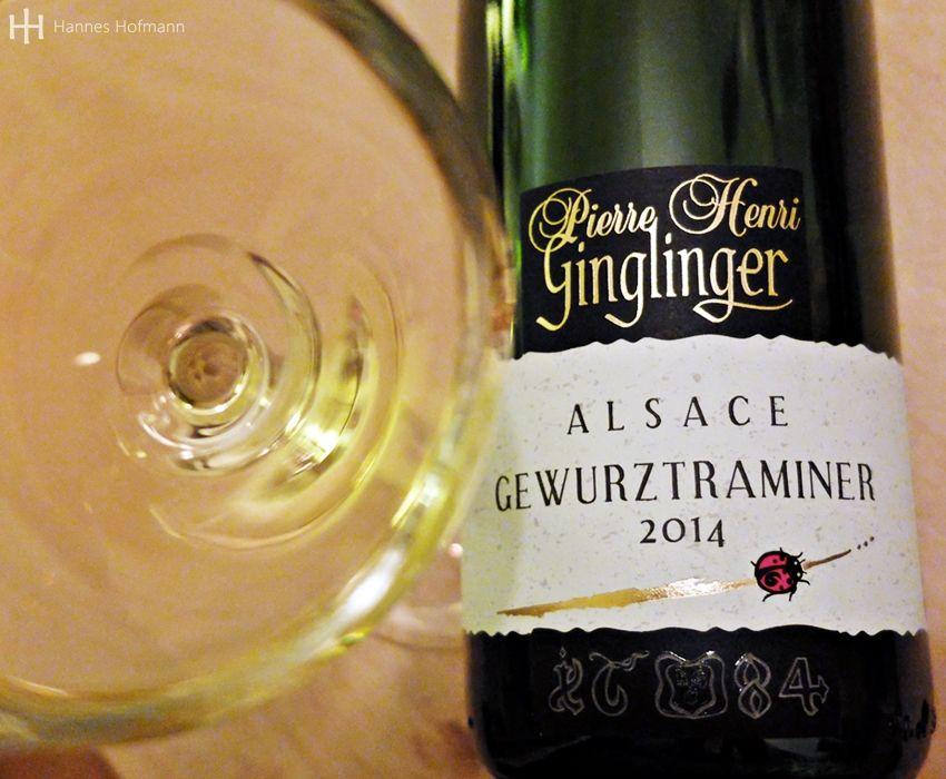 2014er Gewürztraminer - bio - Pierre Henri Ginglinger - Eguisheim - Elsass