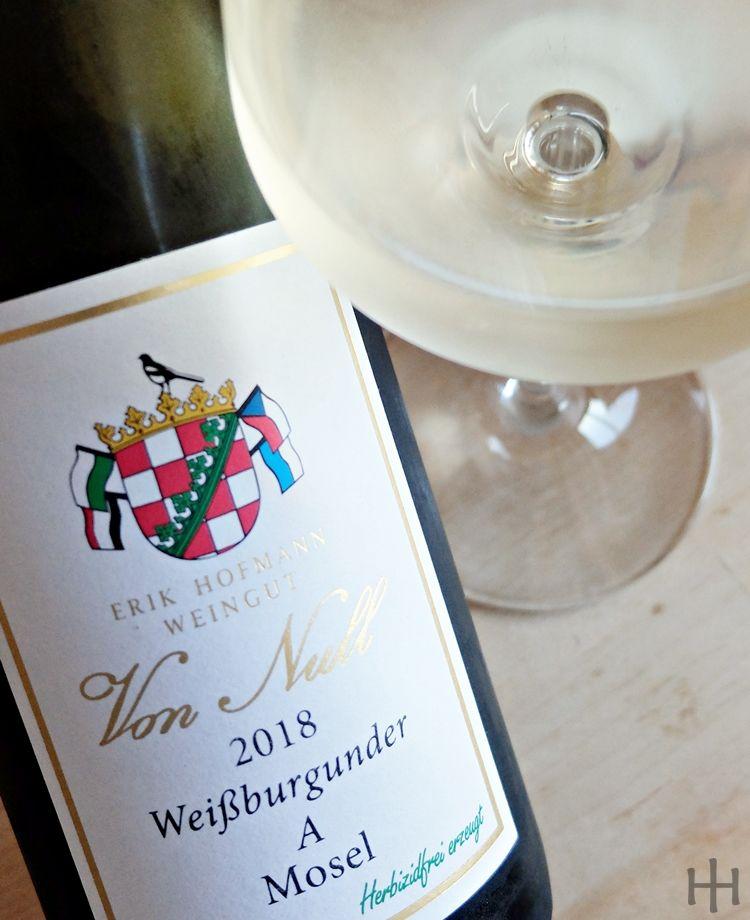 2018er Weißburgunder Auslese von Erik Hofmann - Weingut von Null