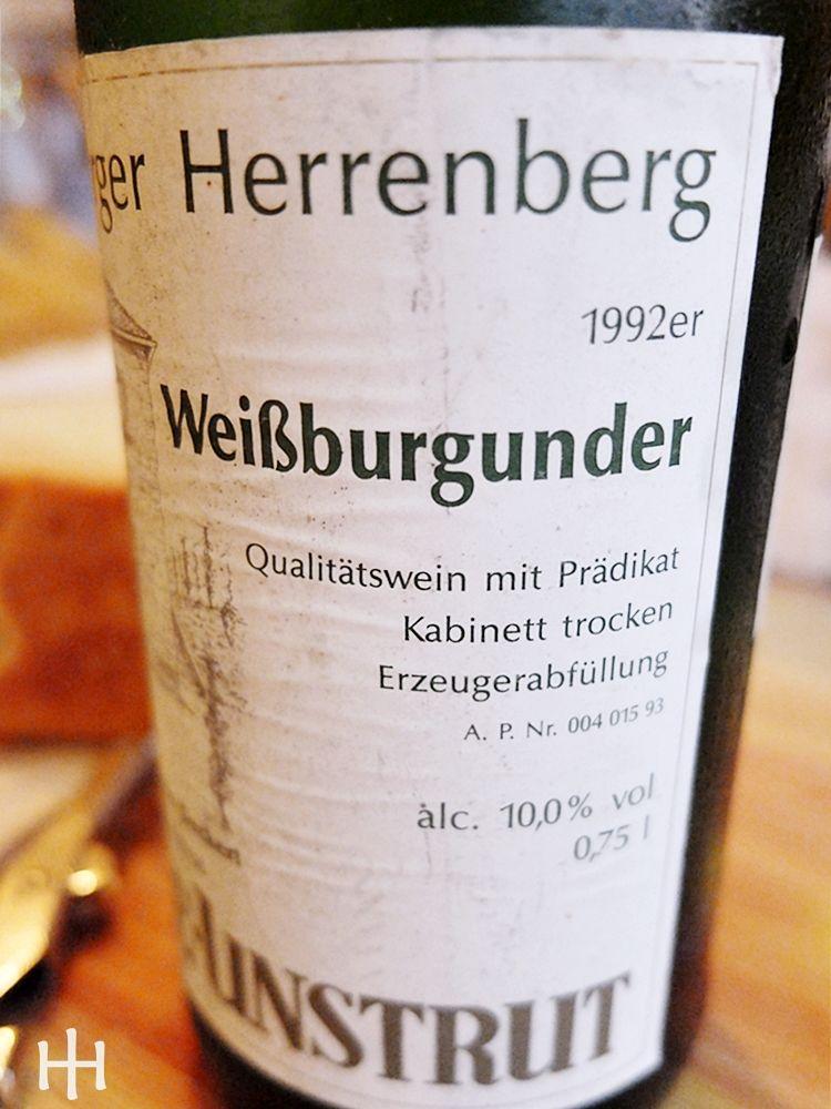 1992er Weißburgunder - Klaus-Remo Deckert - Saale-Untrut - Freyburger Herrenberg