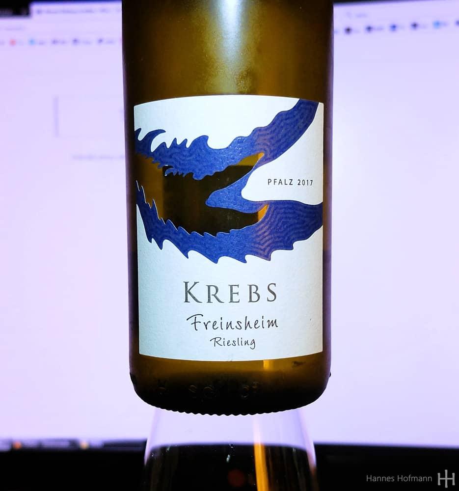 Riesling vom Weingut Krebs – 2017 – Freinsheim – Pfalz