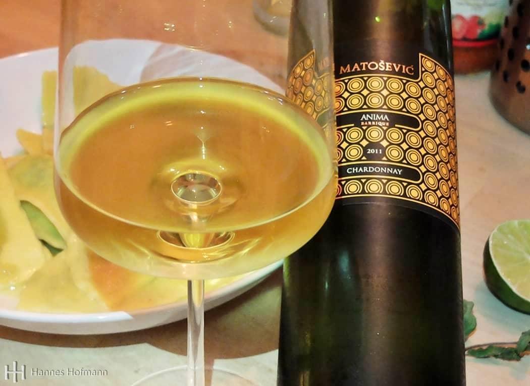 Chardonnay von Matošević - Anima Barrique - 2011 - Istrien - Kroatien